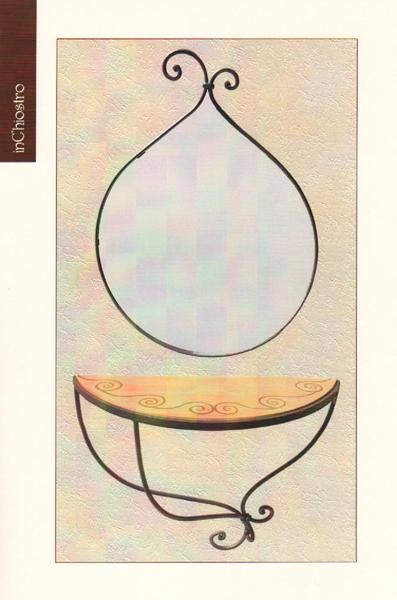 Inchiostro complementi d arredo pagina 1 for Specchio in ferro battuto